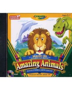 Magic 3D Coloring Book Amazing Animals