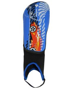 RACER BLUE/RED SHINGUARD